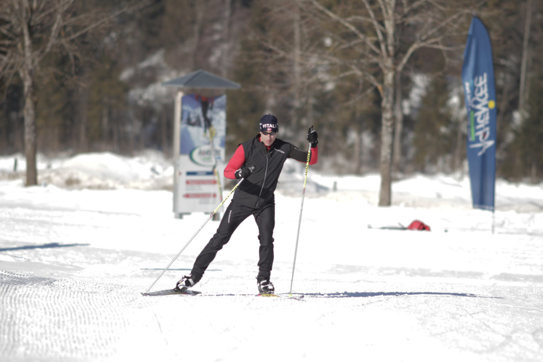 skating langlaufen am achensee