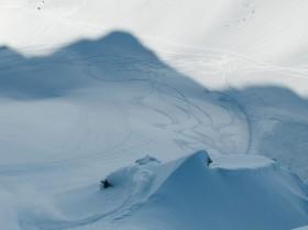 Freeride Snowboarden Tirol