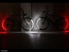 Fahrräder mit Beleuchtung