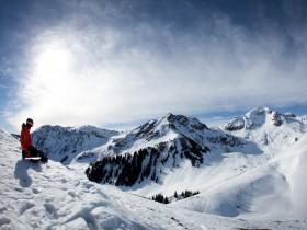 Sonne Skifahren Tirol