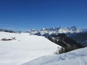 Unberührte Lines Skitour