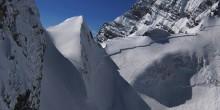 Schneebrett Berg