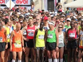 Startbereich Marathon