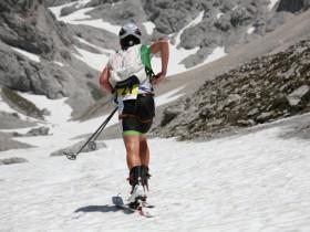 Skitourengehen Gletscher