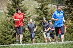 Salomon Runningcamp in Kitzbühel