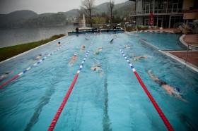 Schwimmtraining im Fuschlseebad