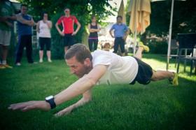 Core-Training mit Jonathan Small