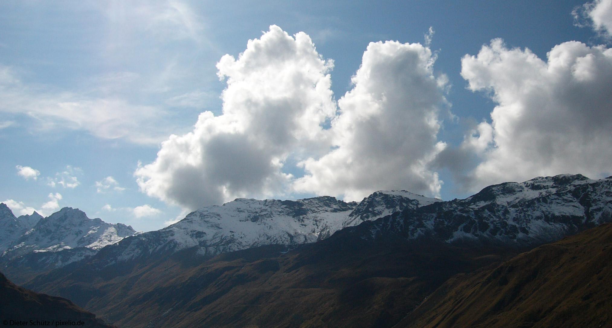 Gewitter-Berg