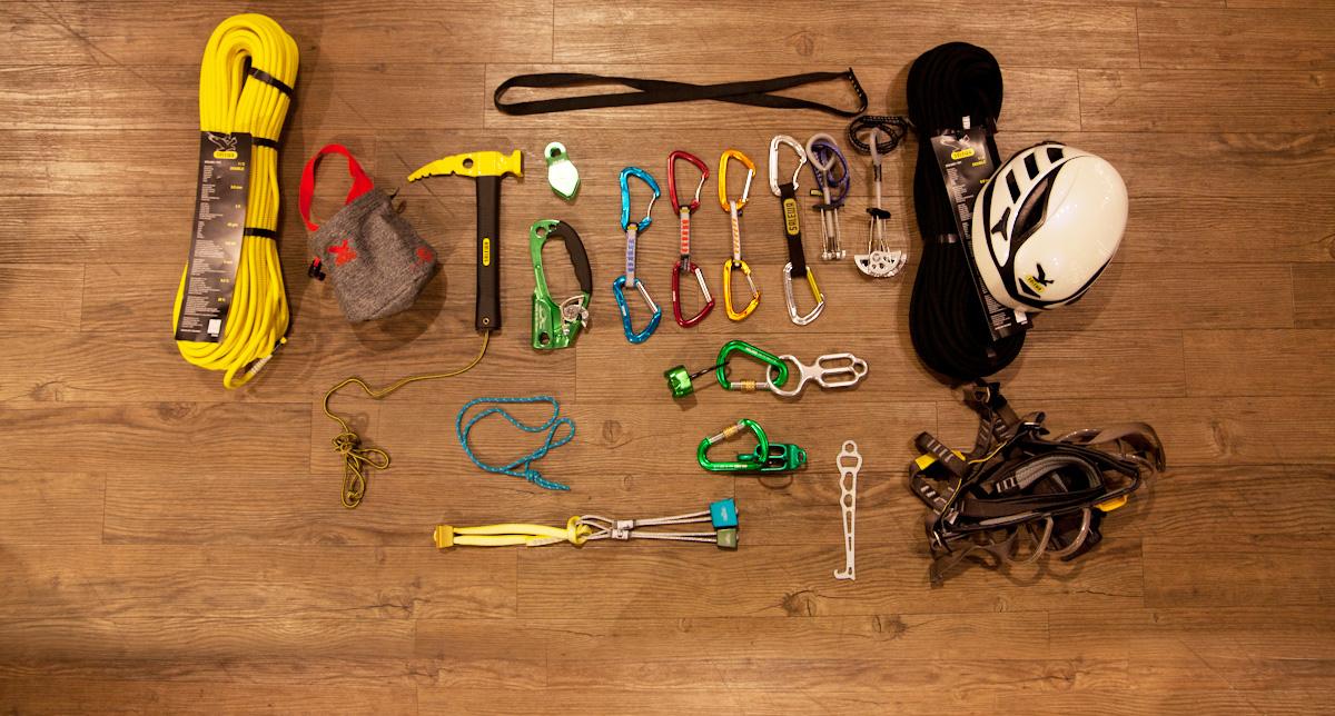 Kletterausrüstung Was Gehört Dazu : Mehrseillängen klettern : von der halle auf den fels