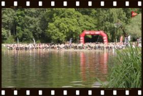 Triathlon Ingolstadt Schwimmstart