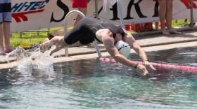 Triftener Triathlon Schwimmstart