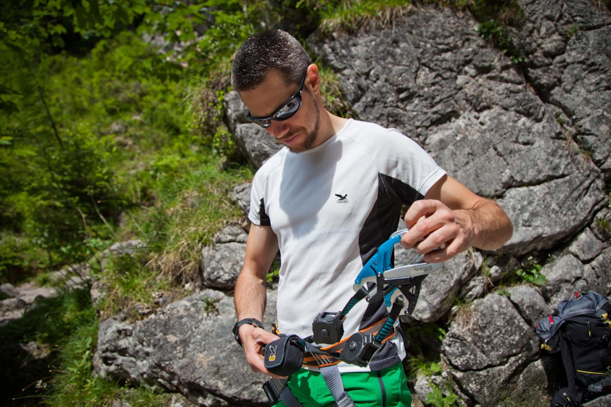 Klettersteigset Welches : Klettersteig: ausrüstung gefahren kinder und anforderungen