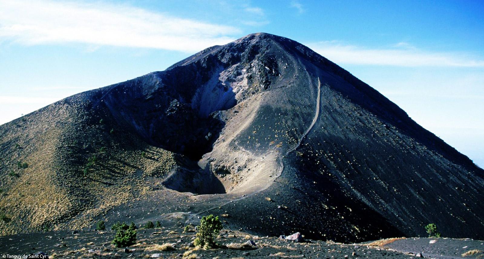 Vulkan auf Guatemala