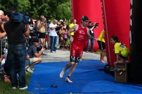 wechselzone triathlon schwimmen