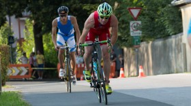Radstrecke Trumer Triathlon