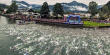 Ironman Zell am See - Schwimmstart