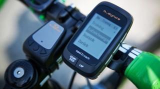 GPS System Rennrad
