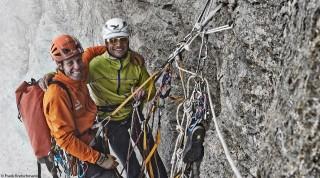 Salewa Athleten Bergsteigen Klettern