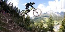 Mountainbike-Jump-Leogang-Bikepark
