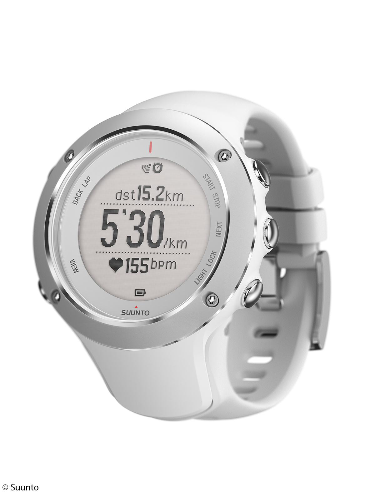 neu suunto ambit2s white die gps uhr f r damen. Black Bedroom Furniture Sets. Home Design Ideas