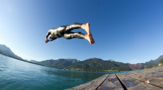 Schwimmen Wolfgangsee
