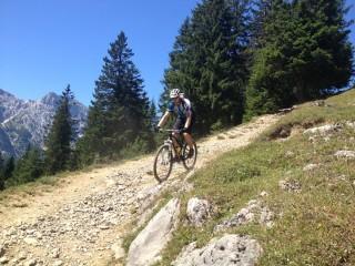 Trails für Mountainbiker
