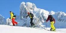 Mit dem Team vom Skitourenwinter in ein unvergessliches Erlebnis,