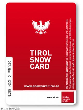 TSC Tirol Snow Card