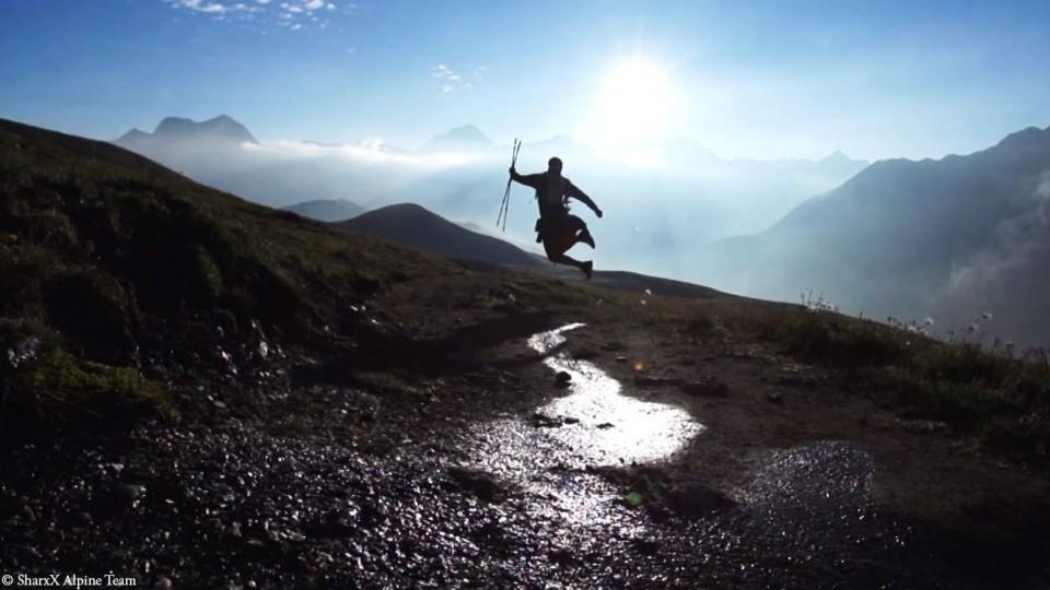 florian grasel beim ultra trail du mont blanc 2013