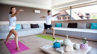 Urlaub in Salzburg Yoga
