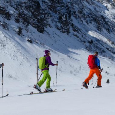 Skitourausruestung