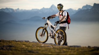 Elektromotor Downhillbike