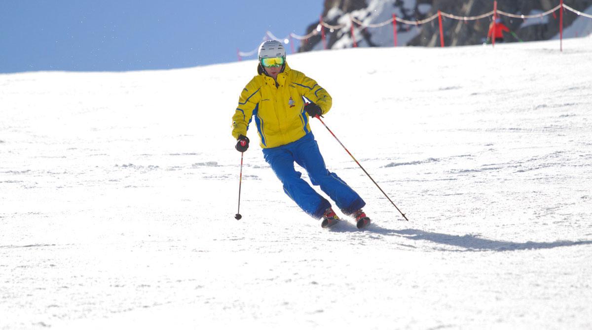 Der kurzschwung erklärt skitechnik für fortgeschrittene