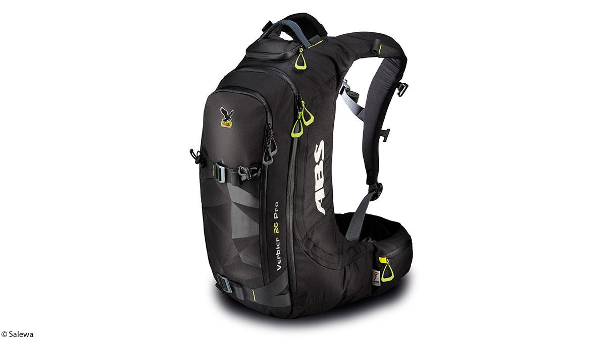 Freeride Rucksack mit Airbag