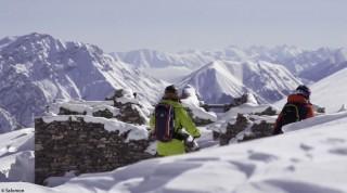 Die Alpen –ein einziger Spielplatz für Freeskier.