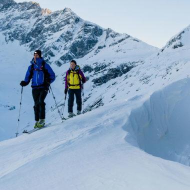 Skitourengehen Camp
