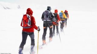 Camp Ausbildung Skitourengehen