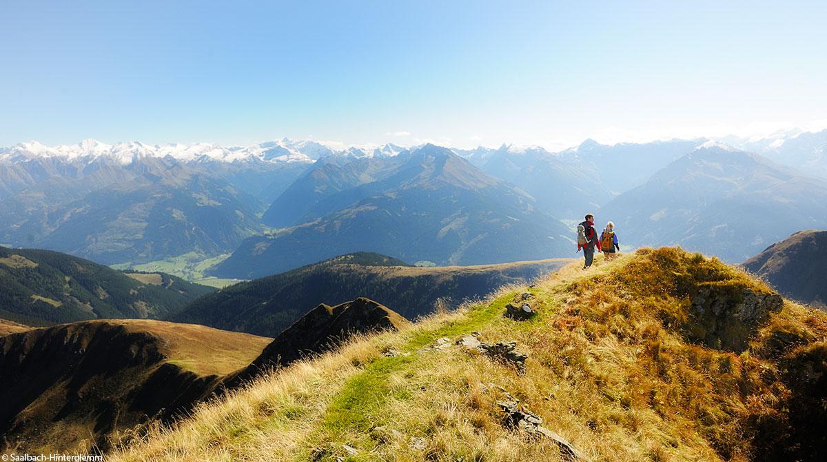 Wandern Saalbach