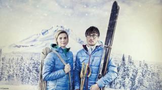 Die Wintersportbekleidung gibt's im Sportalpen Skitourencamp zu testen.