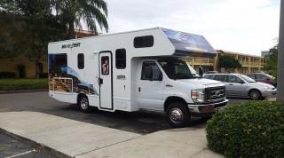 Emanuels Transportmittel in Florida.