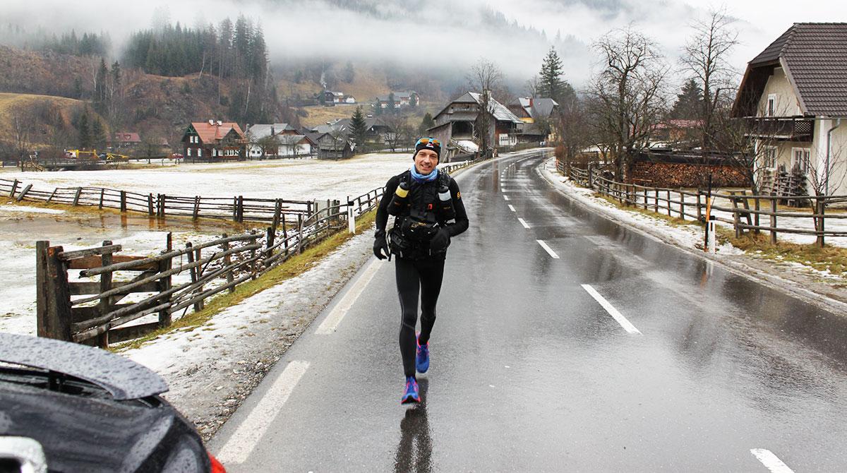 Reini Schager im Training