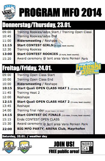 Timetable-MFO-2014