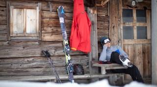 Skihütte in Alpbachtal