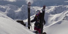 Wendy Fisher Skiing