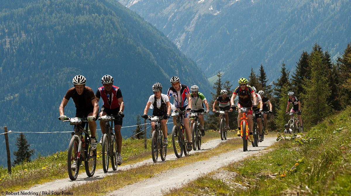 Bike Four Peaks 2014: In 4 Etappen durch Österreich & Bayern