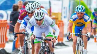 Der Zielsprint beim Vita Club Radmarathon hatte es in sich.