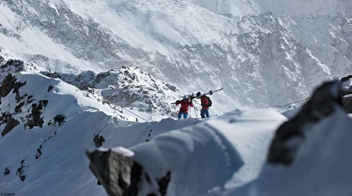 Wintermode Alpinismus