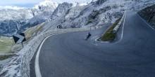 Alpen-Radrennen