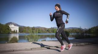 Beim Frauenlaufschuh vom Asics trifft natürliches Laufgefühl auf hohe Flexibilität.