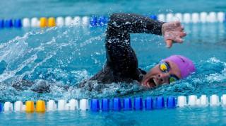 Schwimmtechnik beim Kraulen